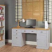 Baumhaus Chadwick Twin Pedestal Desk