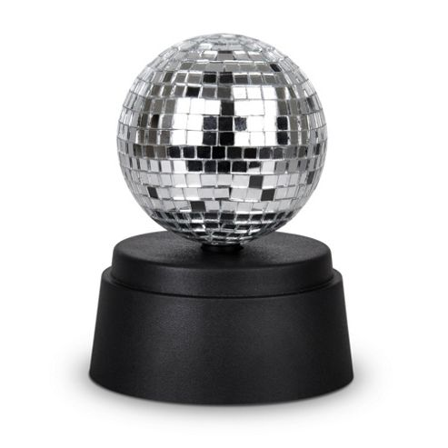 Buy Battery Operated 3 Rotating Disco Mirror Ball from our Novelty Lighting range - Tesco