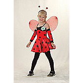 Ladybug - Child Costume 4-5 years