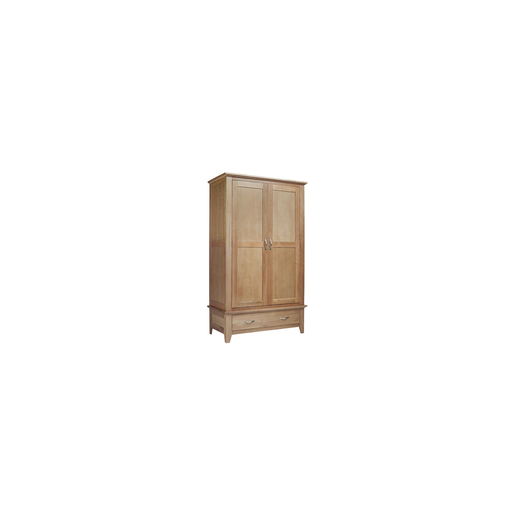 Ametis Sherwood Oak One Drawer Double Wardrobe at Tescos Direct