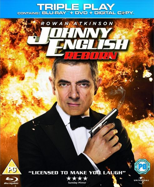 Johnny English Reborn Triple Play (Blu-Ray / DVD / Digital Copy)