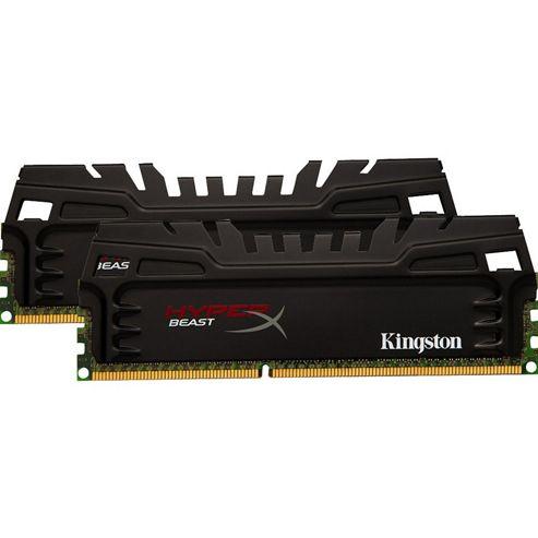 Kingston HyperX Beast (16GB) (2x8GB) Memory Kit 1600MHz DDR3 Non-ECC CL9 240-pin DIMM XMP