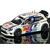 Scalextric Slot Car C3524 Vw Polo Wrc
