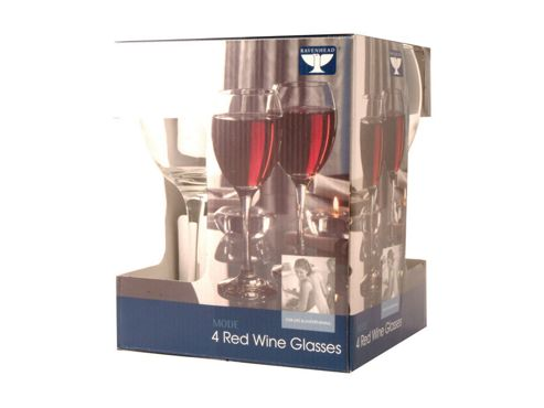Rayware 041.321 Mode Red Wine 34Cl X4