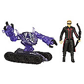 Marvel Avengers Age of Ultron Marvel's Hawkeye vs. Sub-Ultron 004
