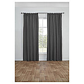 Blackout Pencil Pleat Curtains, Duck Egg (66 x 54'') - Grey