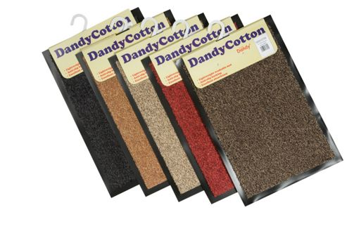 Dandy DandyCotton Brown Mat - 50cm x 80cm
