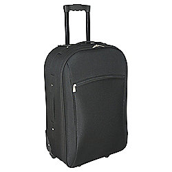 Tesco 2-Wheel Suitcase, Black Extra Large