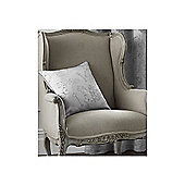 Catherine Lansfield Les sites de Paris Cushion Cover - Silver