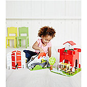 ELC Wooden Dino Park Play Set