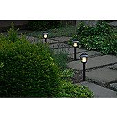 Garden Lights Laurus 1 Light Bollard in Anthracite