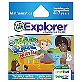 Explorer Learning Game: LeapSchool Maths