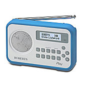 PLAY-LB Portable DABFM radio with Built in Battery Charger