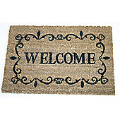 Dandy Welcome Message Mat - 60cm x 40cm