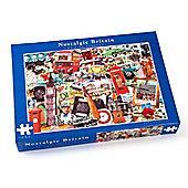Nostalgic - British Passport - 1000pc Puzzle