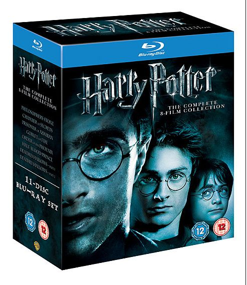 Harry Potter The Complete Collection Years 1-7 (Blu-ray Boxset)