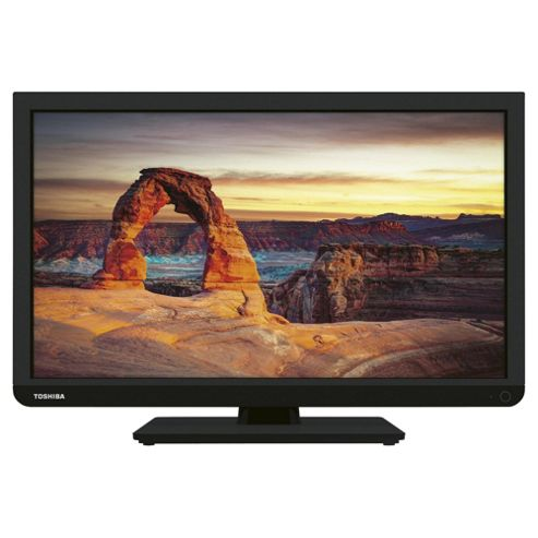 Toshiba 22L1333B2 22 Inch Full HD 1080p LED TV With Freeview