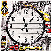 Home Essence New York Wall Clock