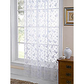 Butterfly Lace Panel Net - White