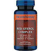 Higher Nature Red Sterol Complex 90 Veg Capsules