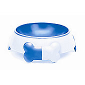 Petmate Dog Feeding Bowl in Blue - 2 Cup