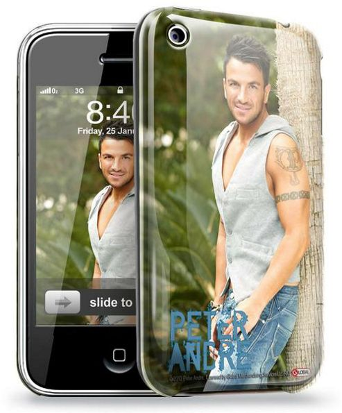 iPhone 3/GS - Official Peter Andre Phone Clip Case
