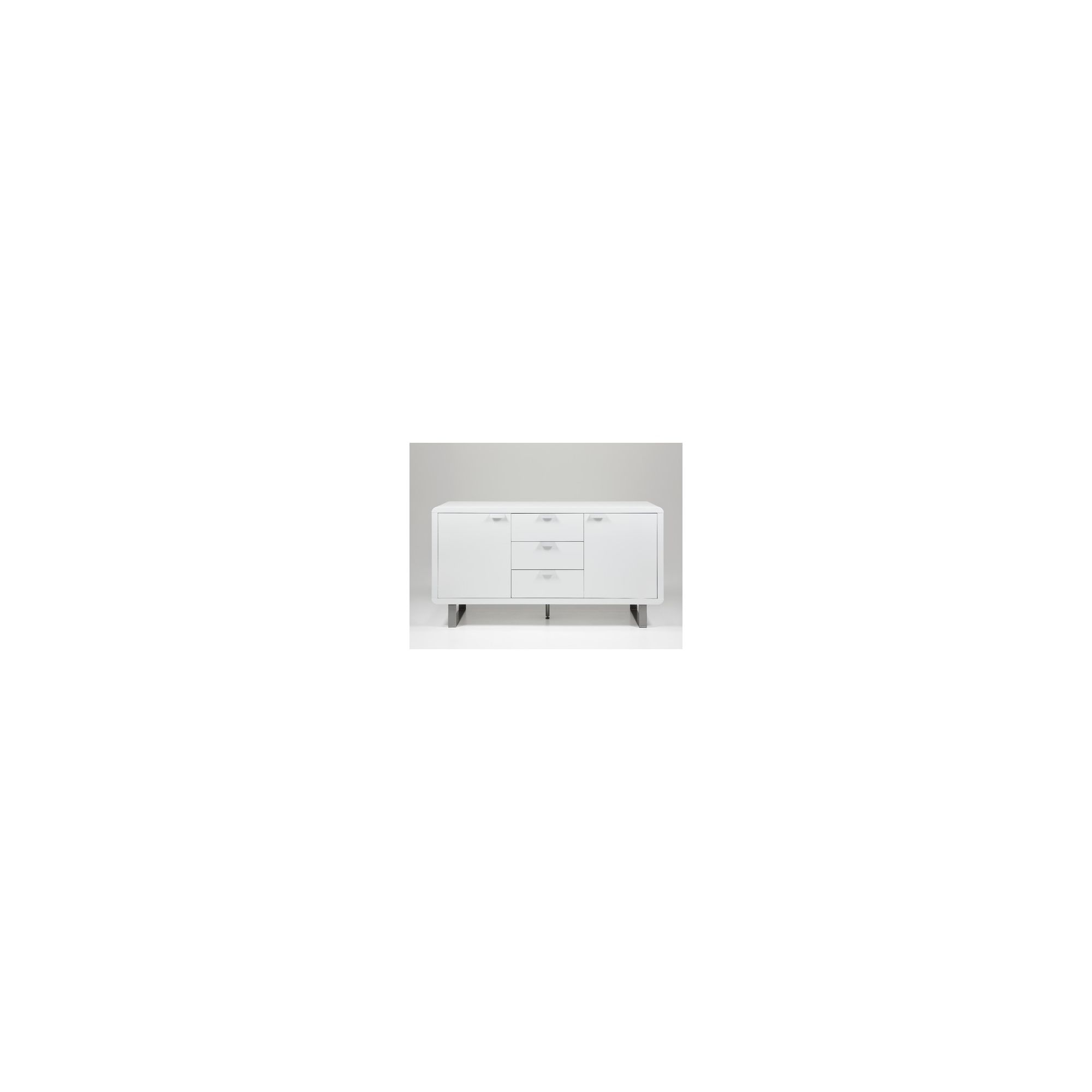 Aspect Design Sleek Sideboard in White at Tesco Direct