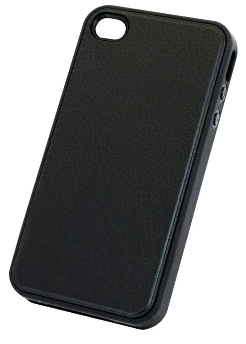 Tortoise™ Soft Gel Case iPhone 4/ 4S Grainy Black