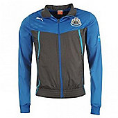 2013-14 Newcastle Puma Walkout Jacket (Black-Blue) - Black