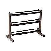 """Body-Solid 40"""" Wide 3 Tier Dumbbell Rack"""