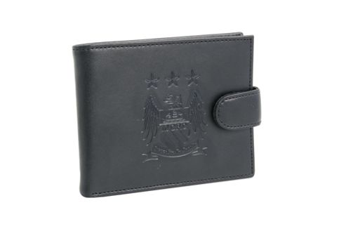 Manchester City FC Wallet with Embossed Crest