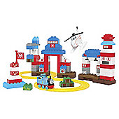 Mega Bloks Junior Builders Thomas & Friends Rescue Centre Heroes