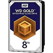 WD 8TB Gold 128MB 3.5IN SATA 6GB/S 7200RPM Hard Drive