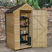 Timberdale 4x3 Overlap Pressure Treated Apex Shed No Windows