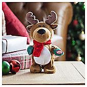 Tesco Dancing Reindeer