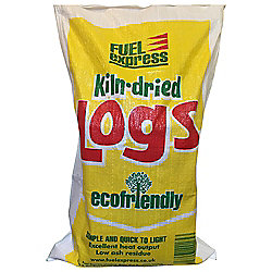 Fuel Express Kiln Dried Log Bag 30 Litres