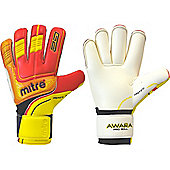 Mitre Awara Pro Roll Goalkeeper Gloves - Red
