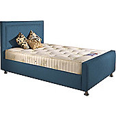 ValuFurniture Calverton Divan Bed and Mattress Set - Teal Chenille Fabric - Small Single - 2ft 6