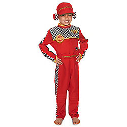 Disney Pixar Cars Mechanic Dress-Up Costume years 02 - 03 Red