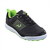 Woodworm Surge Casual Spikeless Street Golf Shoes - Green