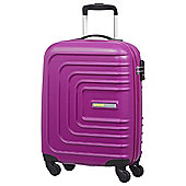 American Tourister Sunset Square 4-Wheel Hard Shell Pink Cabin Case