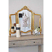 Large New Stunning Antique Design Gold Dressing Table Mirror 2Ft5 X 2Ft10