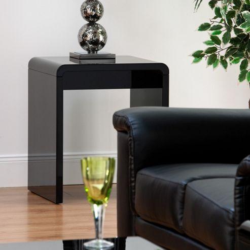 World Furniture Toscana Lamp Table - White