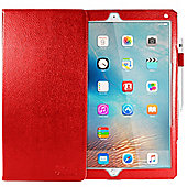 Orzly® Multi-Functional Case for iPad Pro - with Sleep Sensor - RED
