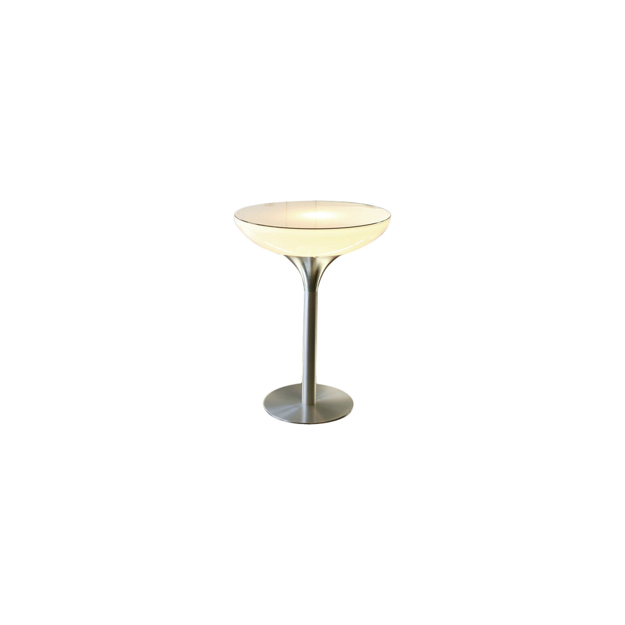Moree Lounge Indoor Table with Glass Top - 45cm at Tesco Direct