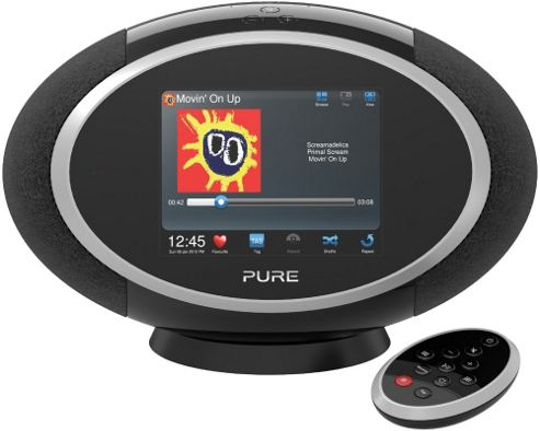 PURE SENSIA 200D CONNECT INTERNET/DAB/FM RADIO (BLACK)