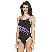 Zoggs Splash Graphic Print Swimsuit - Multi