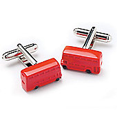 London Double Decker Bus Novelty Themed Cufflinks