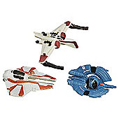 Star Wars Revenge of the Sith Micro Machines Clone Fighter Strike Set