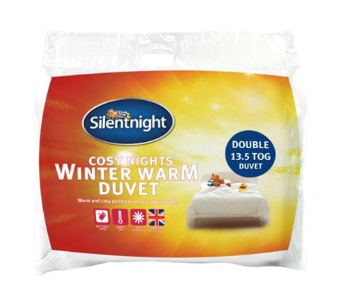 Silentnight Cosy Nights Double Duvet, 13.5 Tog